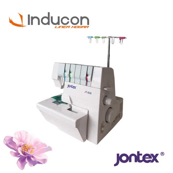 Foto lateral de recubridora doméstica Jontex JT-858